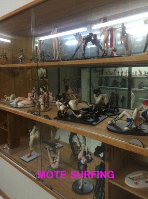 珍宝館の館内写真
