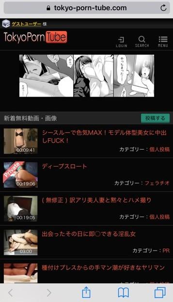 【エロサイト5位】Tokyo porn tube。