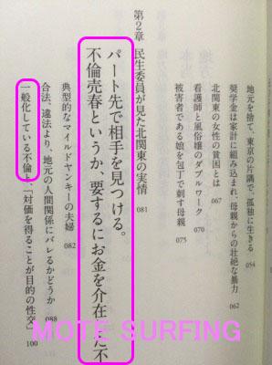 日本の貧困女子、目次